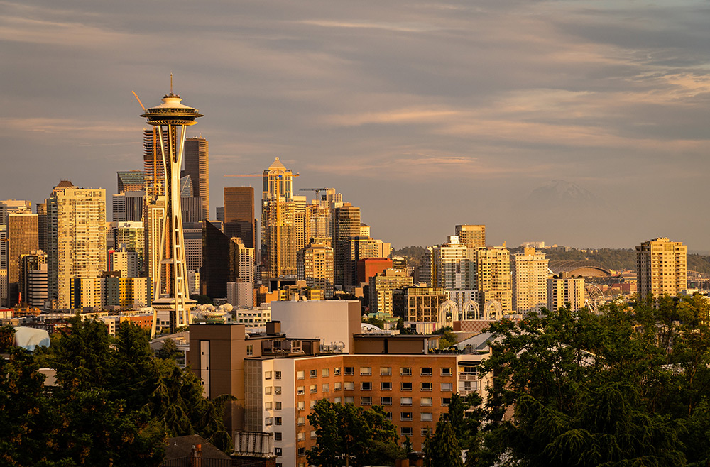 view of seattle skyline from kerry park photo spot