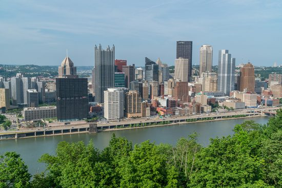 pittsburgh city skyline
